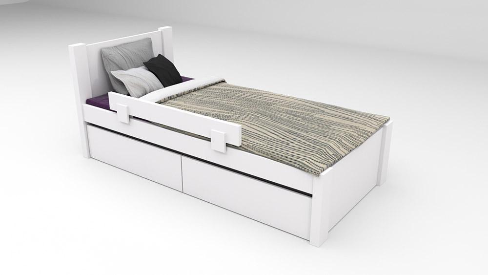 אדיר מיטות ילדים ונוער במחירים משתלמים - רהיטי דורון UL-24