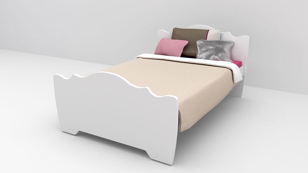 מדהים מיטת פרינסס כתר | רהיטי דורון IW-73